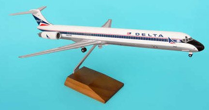 1: 100 スカイマークスSuprem Delta Air Lines MD-80 Old Widget Colors (並行輸入)