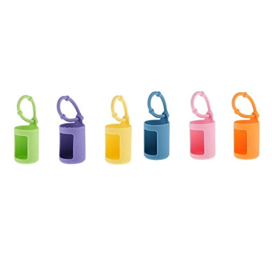 家庭教師リーズバスルームFLAMEER 精油ボトルホルダー 香水瓶 エッセンシャルオイル カバー 吊り掛け 車載 15ミリローラーボトル用