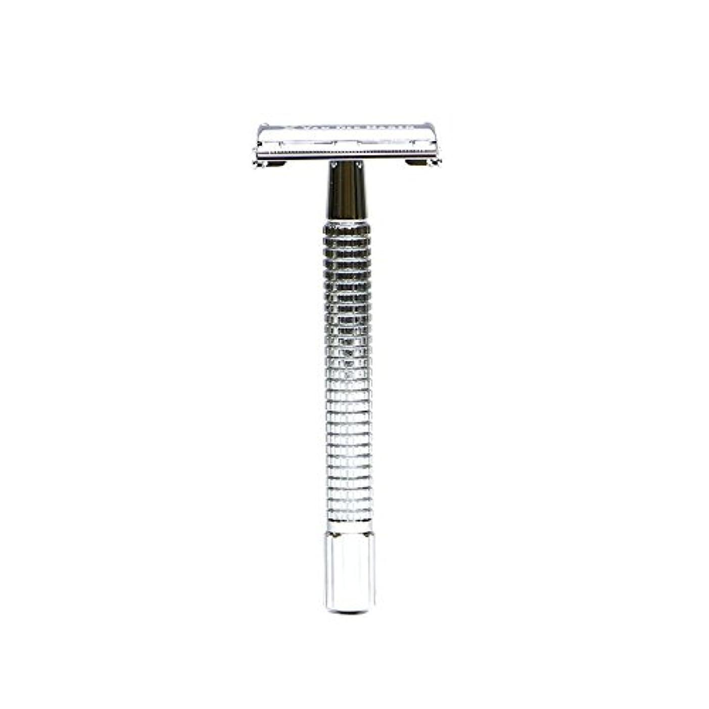 ラッドヤードキップリングリップ組み合わせVANDERHAGEN(米) トラディショナル 安全両刃カミソリ ロングタイプ バタフライタイプ 替刃5枚付