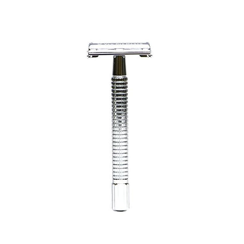 トムオードリースリンク必需品VANDERHAGEN(米) トラディショナル 安全両刃カミソリ ロングタイプ バタフライタイプ 替刃5枚付
