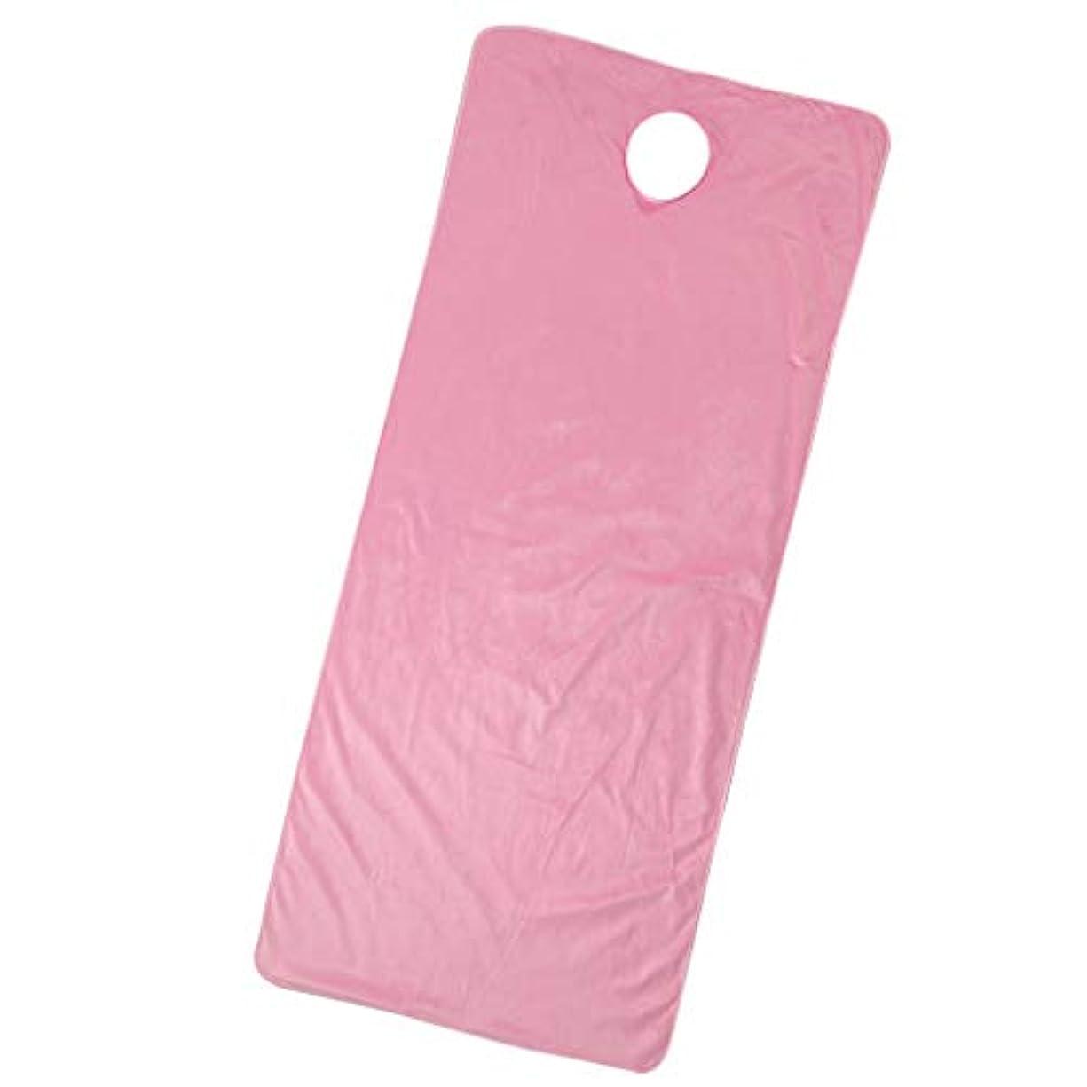 バランスに付ける無知スパ マッサージベッドカバー 有孔 うつぶせ 美容ベッドカバー 快適 通気性