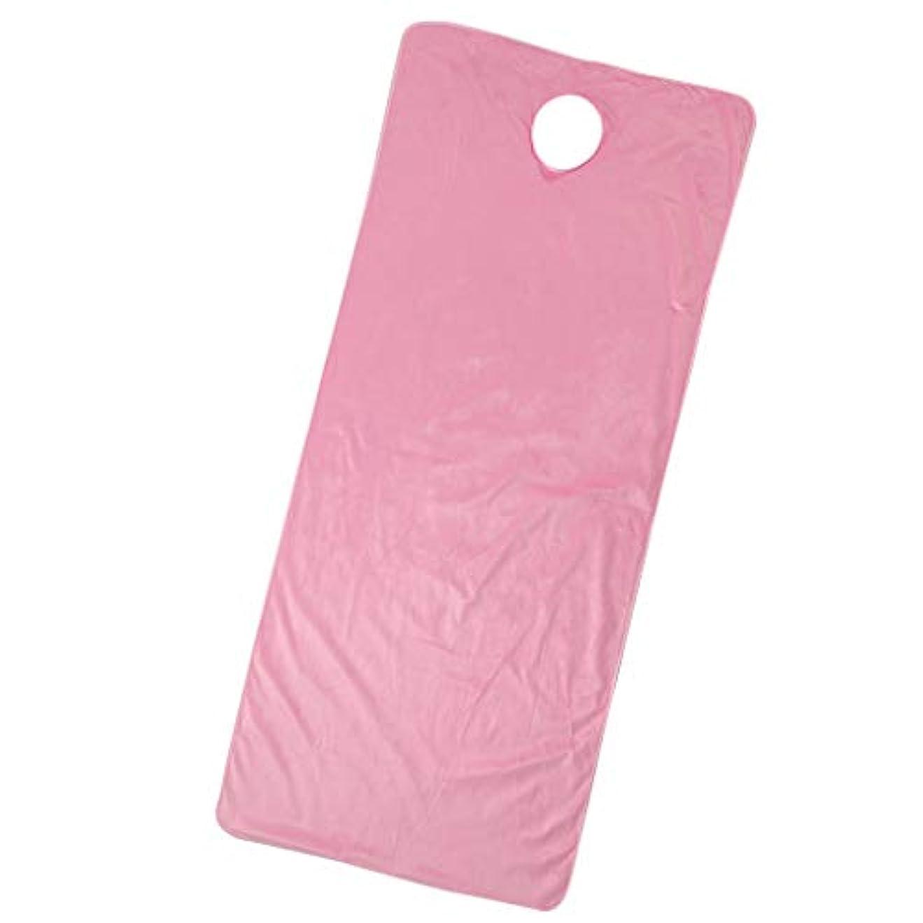 パーチナシティ寝るグリーンバックスパ マッサージベッドカバー 有孔 うつぶせ 美容ベッドカバー 快適 通気性