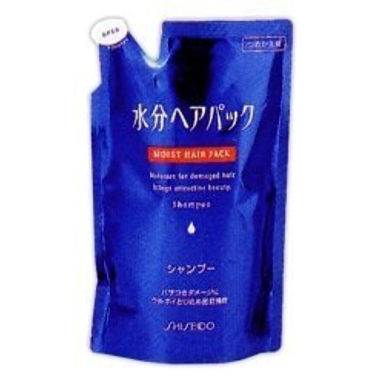 絵ブランド名小さな【エフティ資生堂】水分ヘアパック シャンプー つめかえ用 450ml ×3個セット