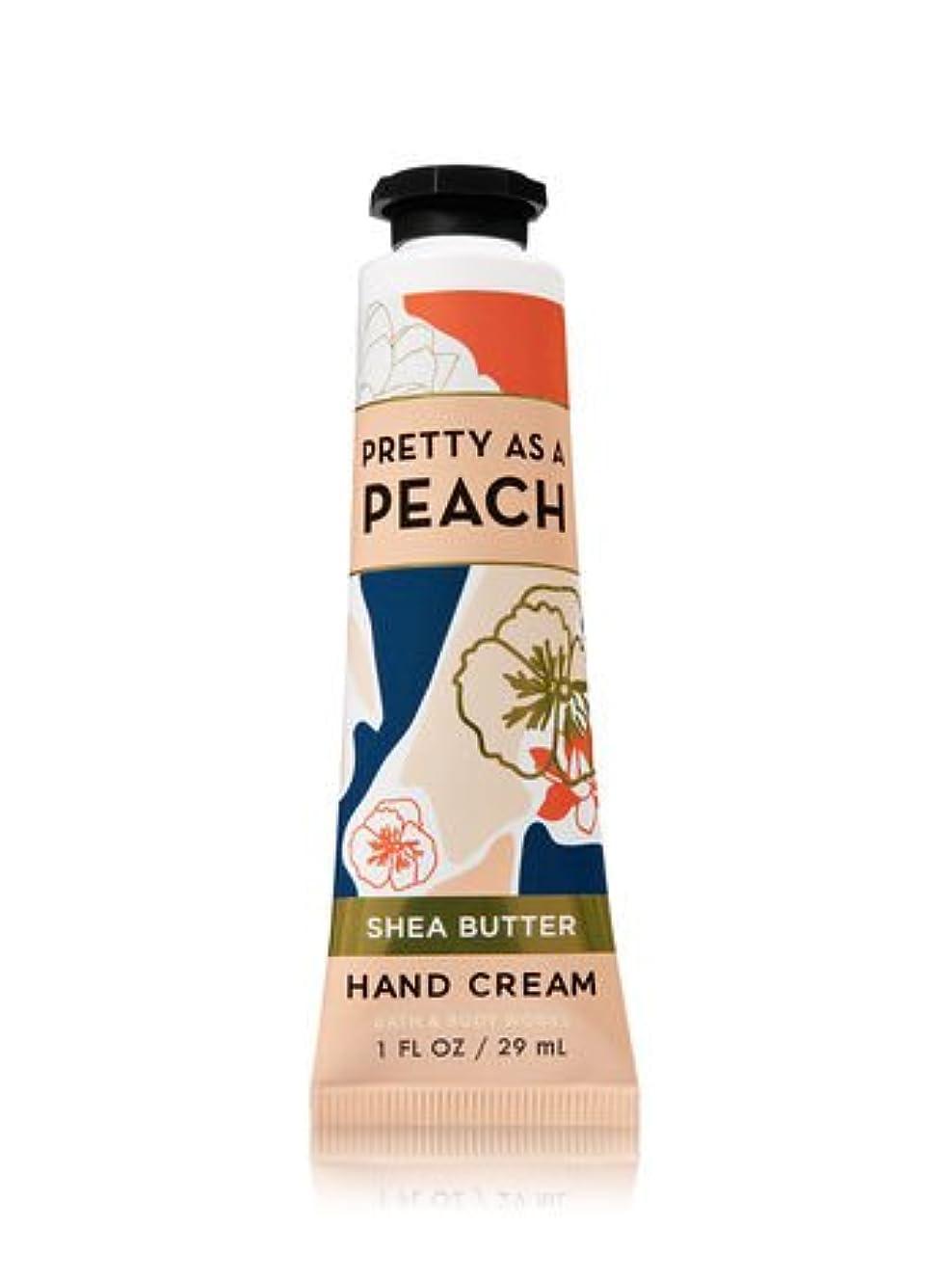 コンソール田舎者スリル【Bath&Body Works/バス&ボディワークス】 シアバター ハンドクリーム プリティーアズアピーチ Shea Butter Hand Cream Pretty As A Peach 1 fl oz / 29 mL...