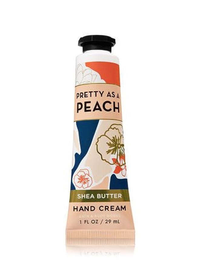 ボイラーレンズ飢饉【Bath&Body Works/バス&ボディワークス】 シアバター ハンドクリーム プリティーアズアピーチ Shea Butter Hand Cream Pretty As A Peach 1 fl oz / 29 mL...