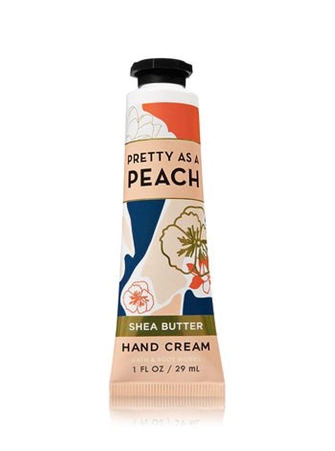 接ぎ木太鼓腹小説【Bath&Body Works/バス&ボディワークス】 シアバター ハンドクリーム プリティーアズアピーチ Shea Butter Hand Cream Pretty As A Peach 1 fl oz / 29 mL...