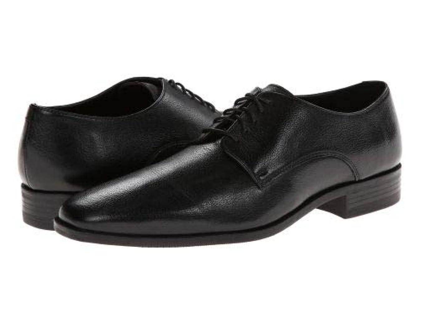 影響キウイ診療所Cole Haan(コールハーン) メンズ 男性用 シューズ 靴 オックスフォード 紳士靴 通勤靴 Kilgore Plain Toe - Black [並行輸入品]