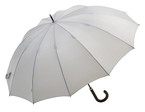 紳士用 長傘 【 12フレーム 】 グレー BE-55123