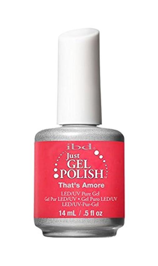 バー交流する合併症IBD Just Gel Polish - That's Amore - 0.5oz / 14ml