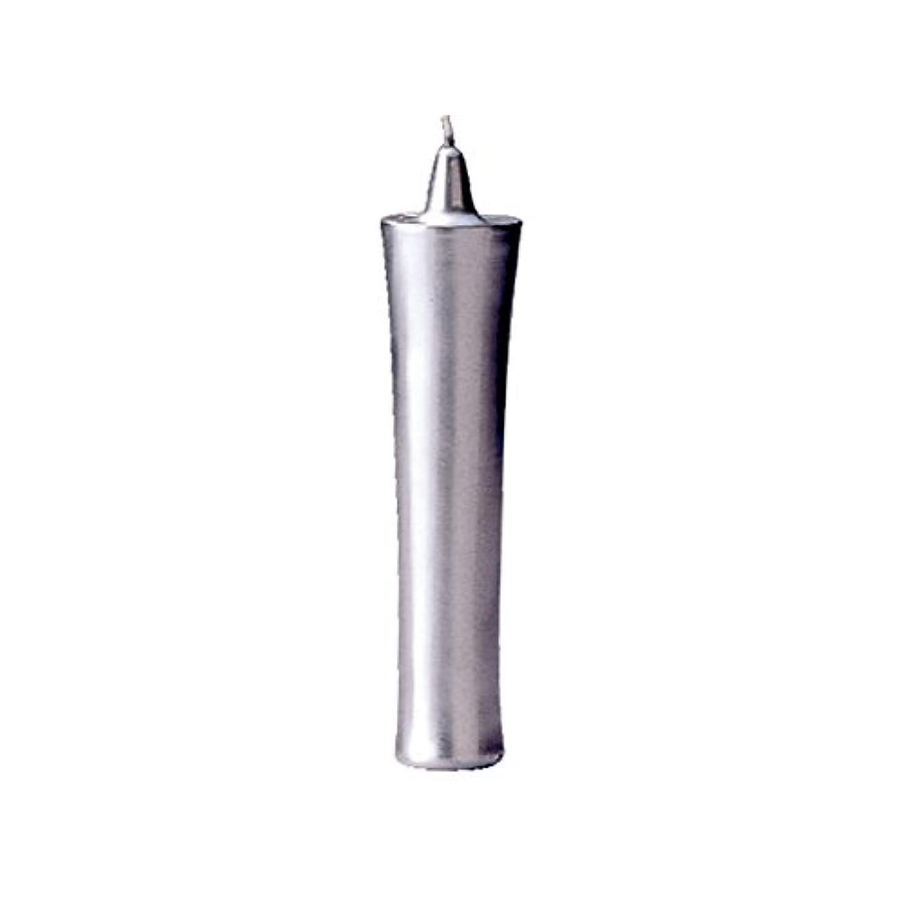 種をまくコンクリート経過カメヤマ 和ロー型(C)銀 22cm (1セット)