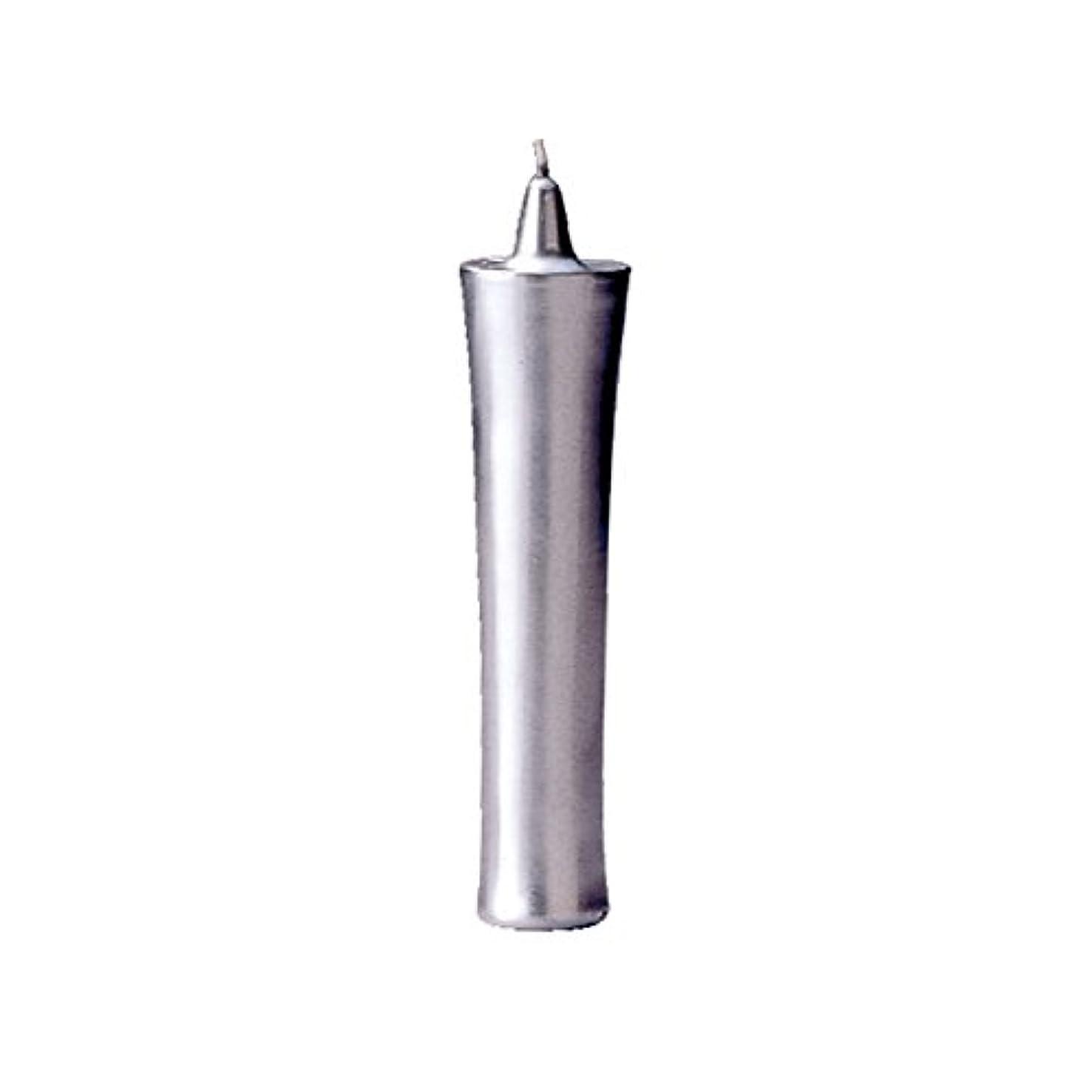 ニコチン真向こうリーダーシップカメヤマ 和ロー型(C)銀 22cm (1セット)