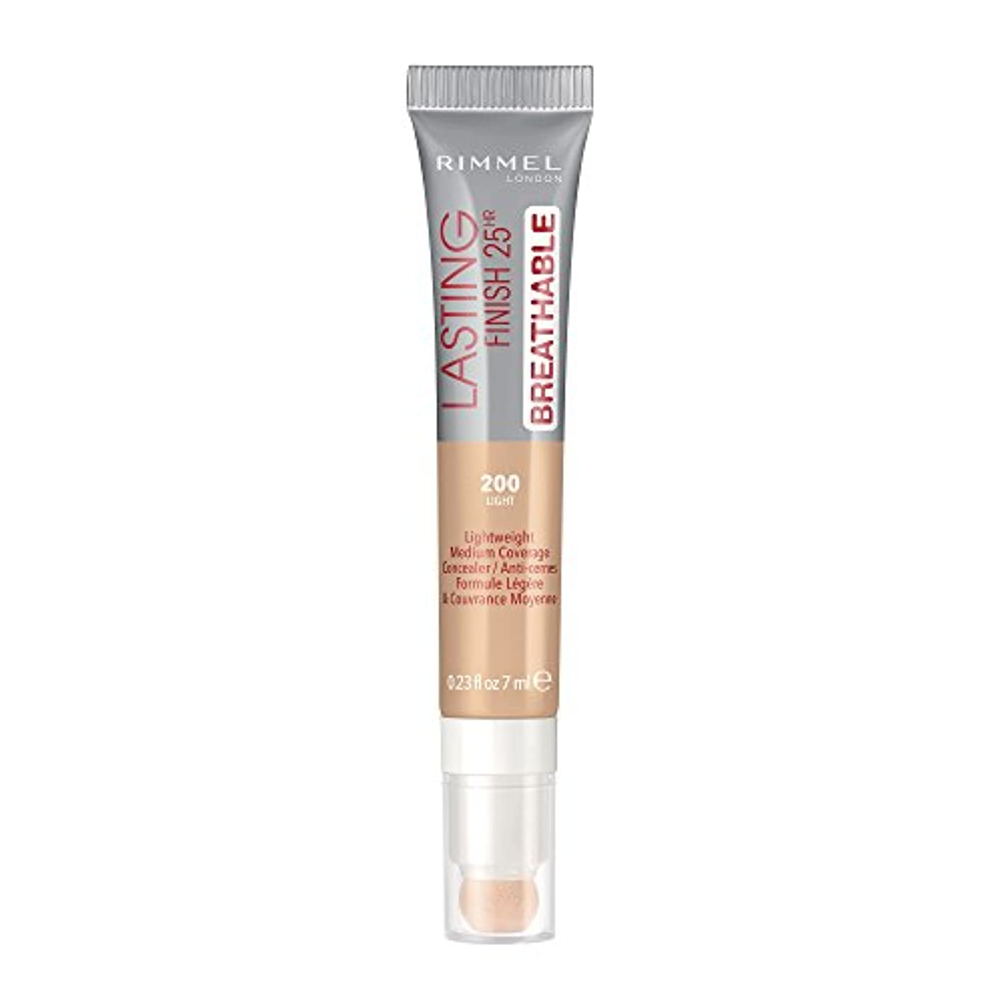 テスピアン宿魅力的RIMMEL LONDON Lasting Finish Breathable Concealer - Light (並行輸入品)