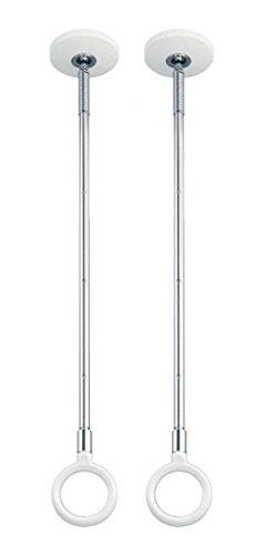 川口技研 kawaguchigiken 室内用ホスクリーン SPC-W スポット型 SPC型 ホワイト・標準サイズ・2本 【SPC-W】