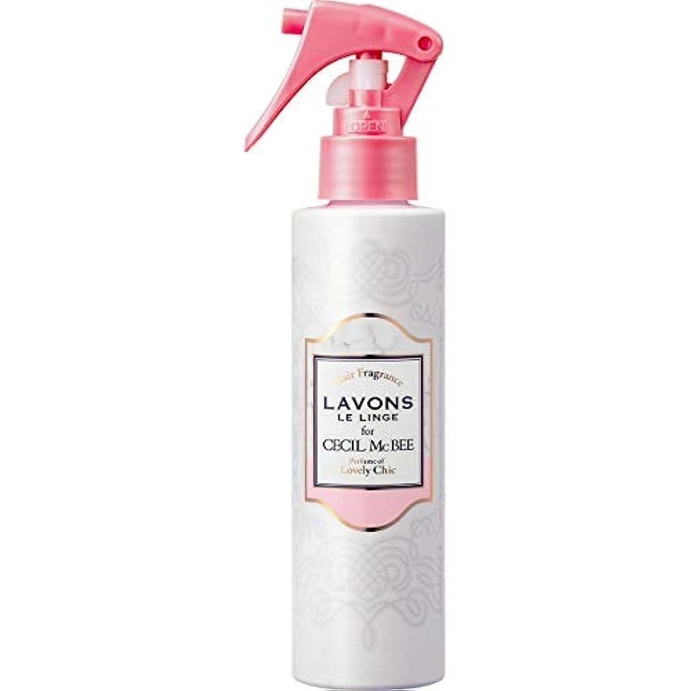 トロリー庭園インサートラボン for CECIL McBEE ヘアフレグランスミスト ラブリーシックの香り 150ml