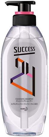 サクセス24 クレンジング シャンプー みずみずしいフルーティフローラルの香り 本体 350ml サロン仕上げ 髪 ・ 地肌 スッキリ