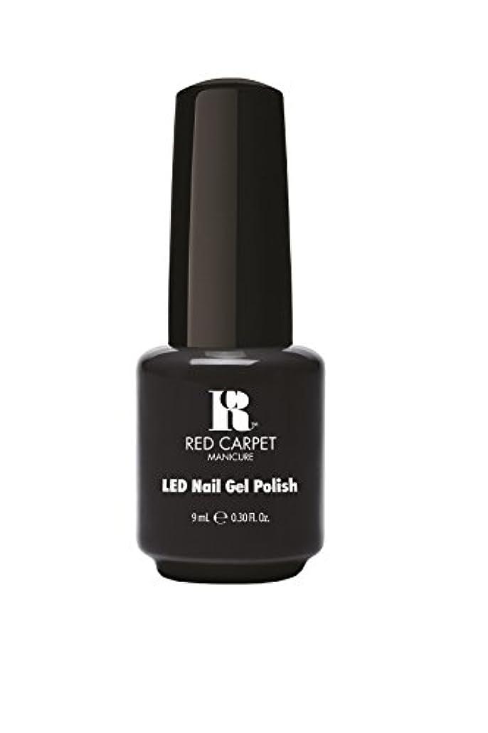 暗くするスペア厚くするRed Carpet Manicure - LED Nail Gel Polish - Sultry Starlet - 0.3oz/9ml