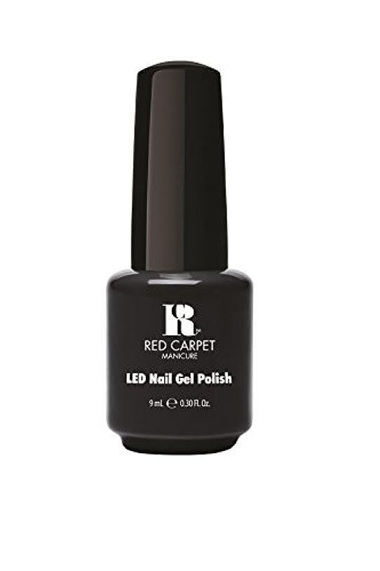 したがってシャトル車両Red Carpet Manicure - LED Nail Gel Polish - Sultry Starlet - 0.3oz/9ml