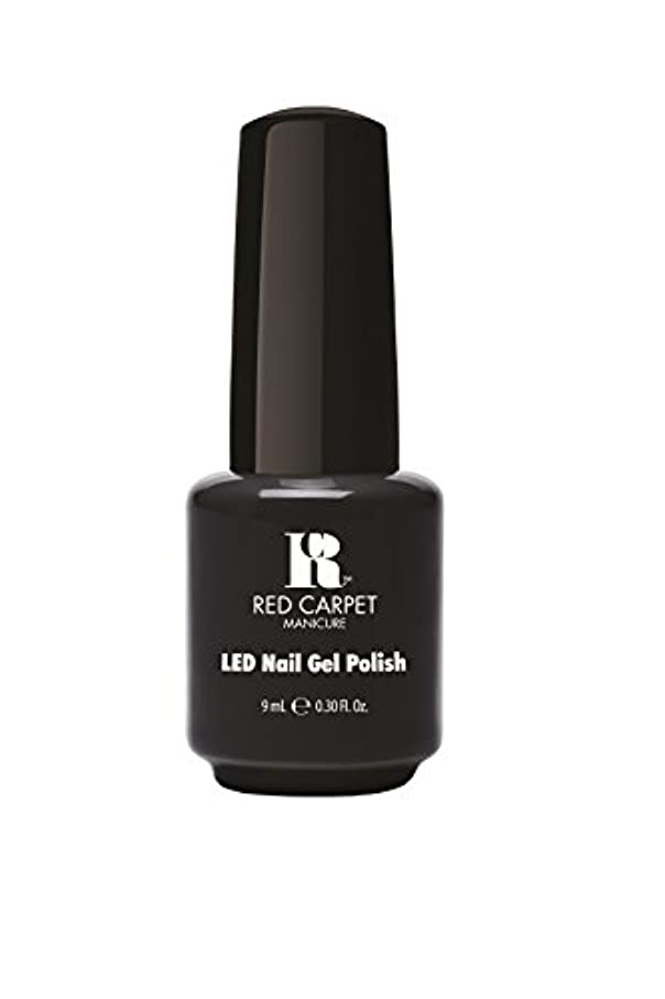 死の顎メモコインRed Carpet Manicure - LED Nail Gel Polish - Sultry Starlet - 0.3oz/9ml