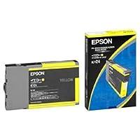 【純正品】 エプソン(EPSON) インクカートリッジ 色:イエロー 型番:ICY24 単位:1個 ds-1095910