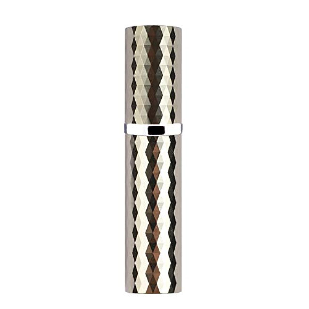 MOOMU アトマイザー 香水スプレー 噴霧器 詰め替え容器 底部充填方式 携帯用5ml (グリーン LightGreen)