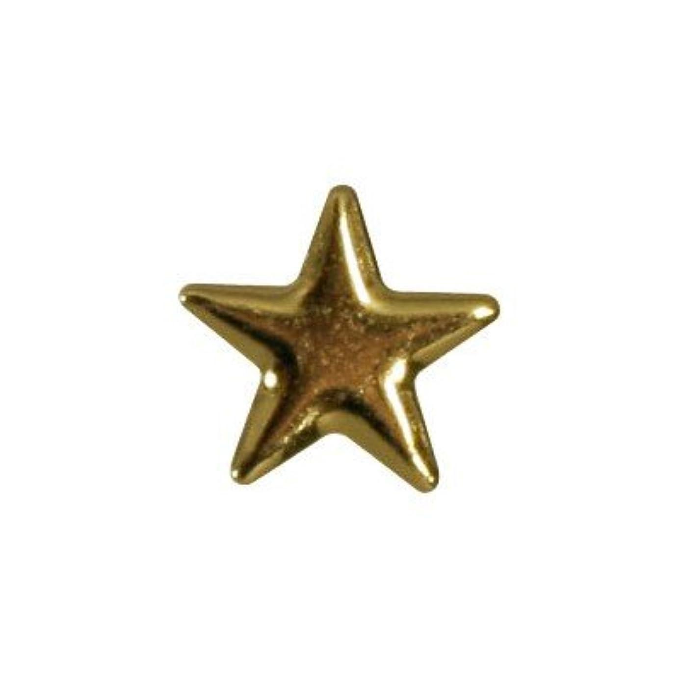 寛解熱心な立ち寄るピアドラ スタッズ メタルスター 5mm 30P ゴールド