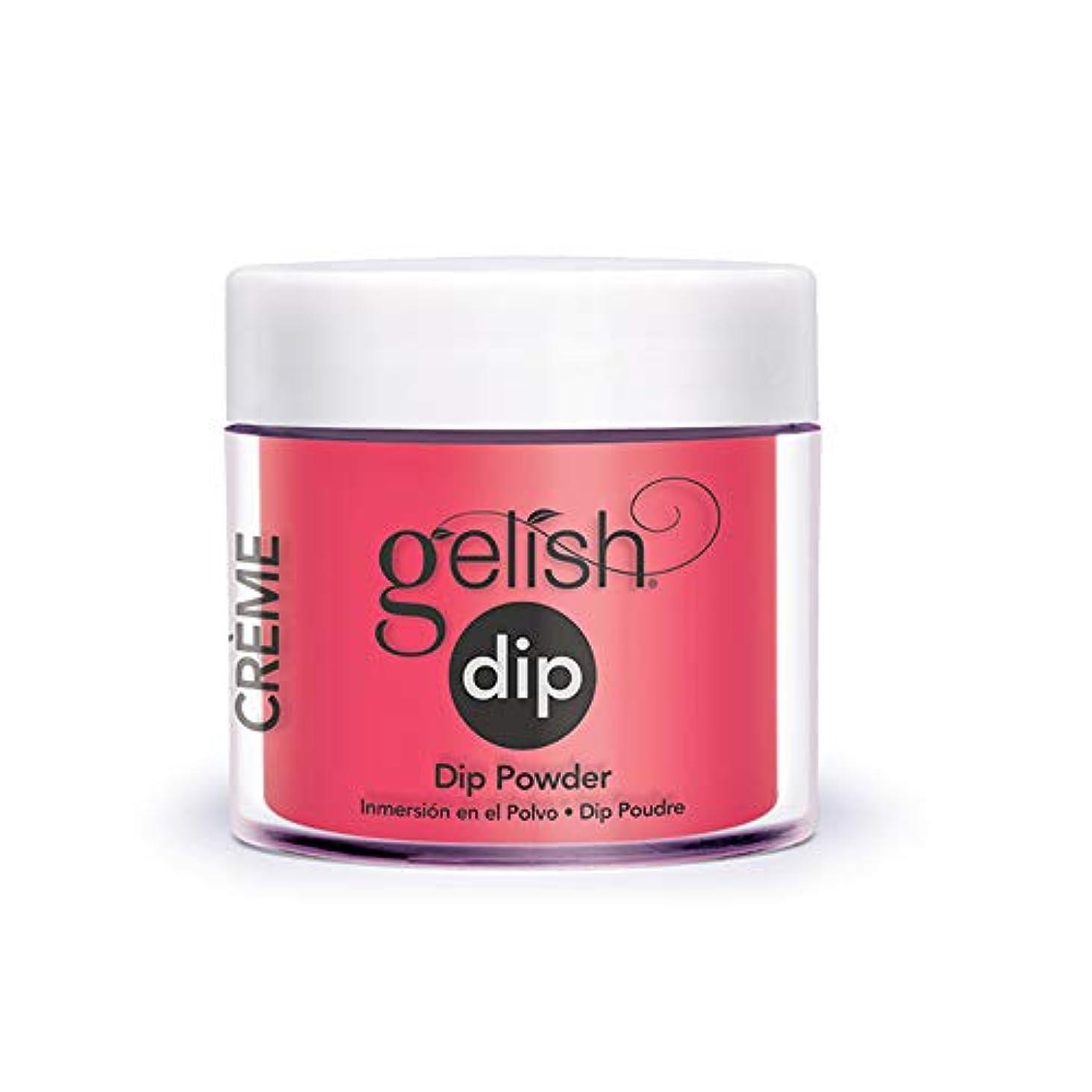 麦芽識字サージHarmony Gelish - Acrylic Dip Powder - Pink Flame-ingo - 23g / 0.8oz