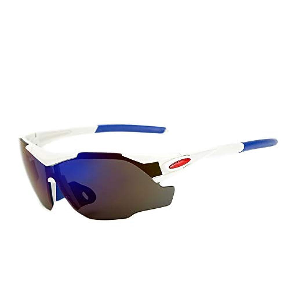 ピア一瞬メーカースポーツサイクリングサングラス、 5ピース男性と女性のアウトドアスポーツサイクリングメガネで近視pc防爆サングラス5有料パッケージ
