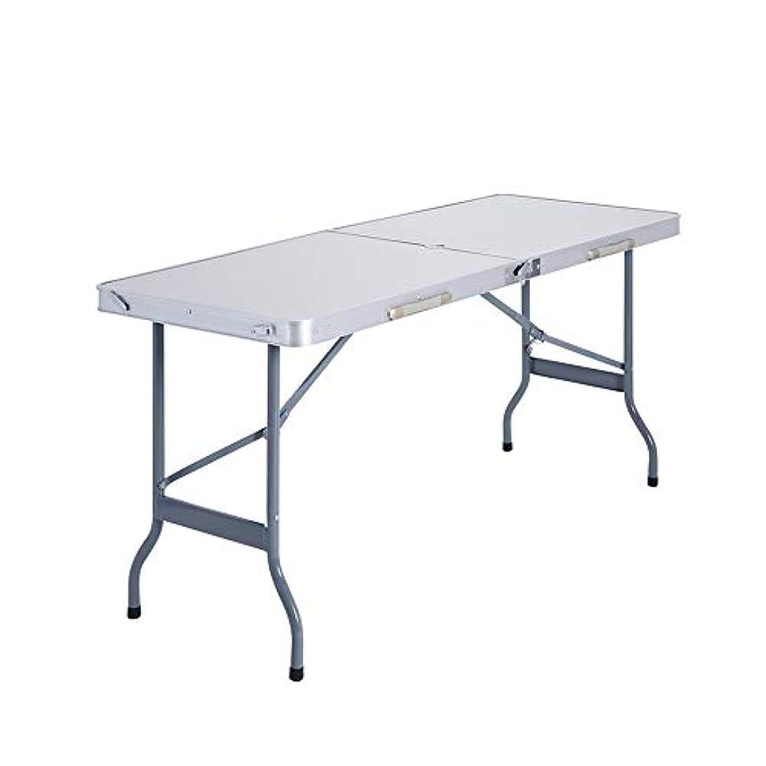 アクションシットコム地中海LJHA zhuozi 折りたたみテーブル、屋外折りたたみポータブルキャンプピクニックバーベキュー釣りテーブルホームダイニングテーブルパーティーテーブルコンピュータデスクライティングデスク