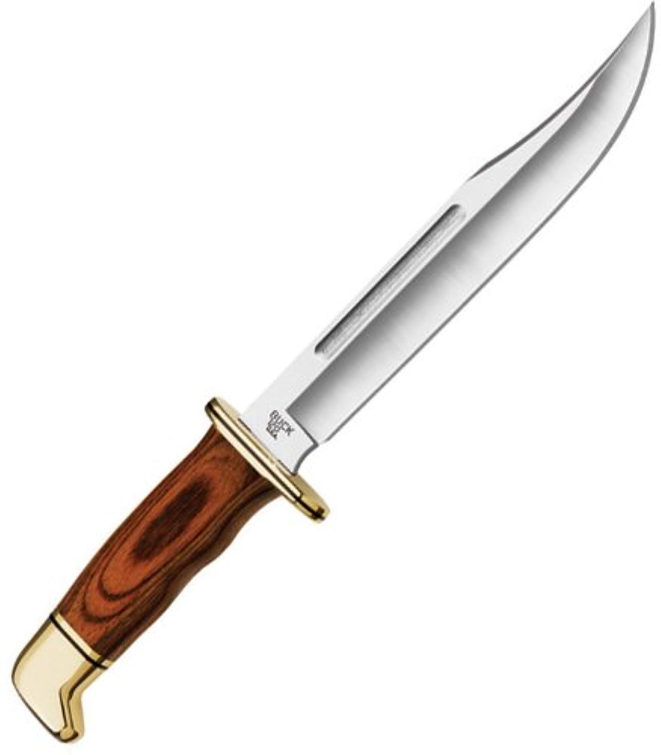 適切なスキャンダル鉄道BUCK(バック) 狩猟ナイフ ジェネラル ココボロ General Cocobora Dymondwood Handle 120BRS 0120BRS-B