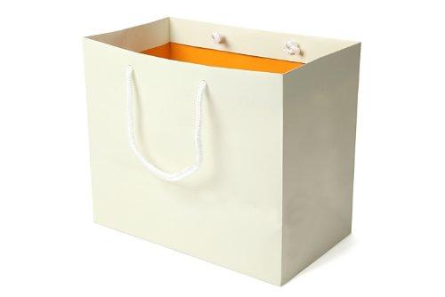 スタジオK 引き出物袋OR(小)(アイボリーホワイト×オレ・・・