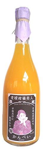 愛媛柑橘美人 かんぺい ストレート果汁100% 720ml