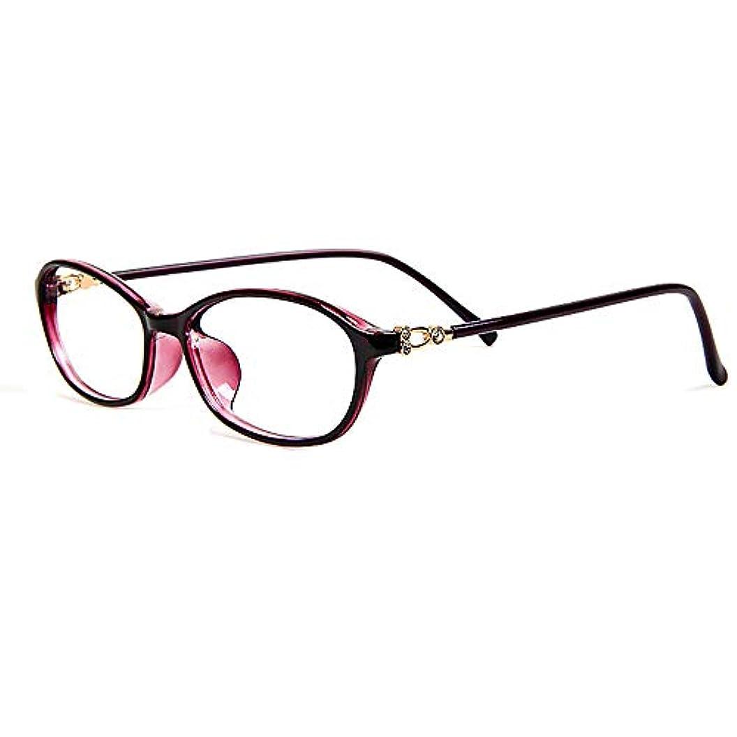 女性の老眼鏡 - アンチブルーレイコンピュータゴーグルリーダー超軽量ポータブル光学メガネ屋外ミラー、+ 0.5?+ 2.0
