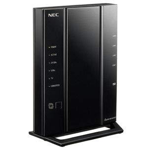 NEC AtermWG2600HP3 無線LANルータ(親機)1733Mbps(11ac)+800Mbps(11n) / 1000Mbps(有線LAN) PA-WG2600HP3