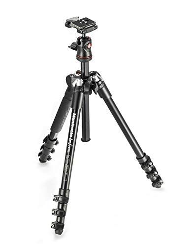 Manfrotto コンパクト三脚 Befree アルミ 4段三脚ボール雲台キット MKBFRA4-BH