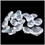 アクリルアイス ダイヤモンド 蛍光クリア 無色透明(1kg)  / お楽しみグッズ(紙風船)付きセット [おもちゃ&ホビー]