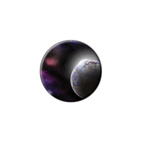 飛行機スペース内トン - 星雲スター宇宙ラペルハットピンタックタックスモールラウンド