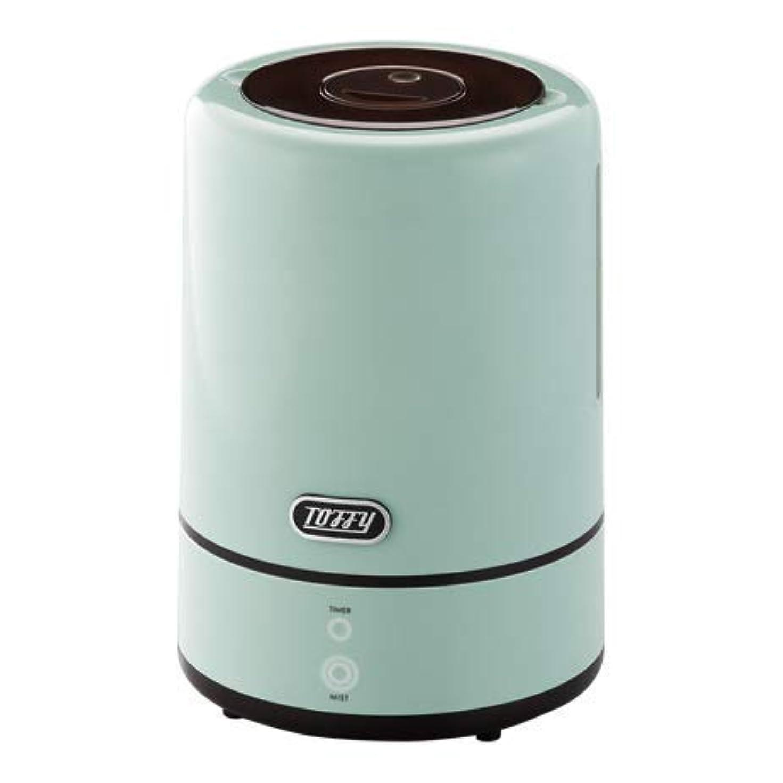 滞在政策アクセルToffy トフィー アロマ 加湿器 ディフューザー 上部給水式 TF94-HF ペールアクア アッシュホワイト レトロ 超音波振動方式 超音波式 (ペールアクア)