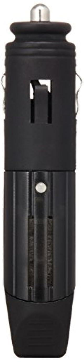 伝導率電話インシュレータHeavenly Aroom ドライブアロマディフューザー チャコールグレー