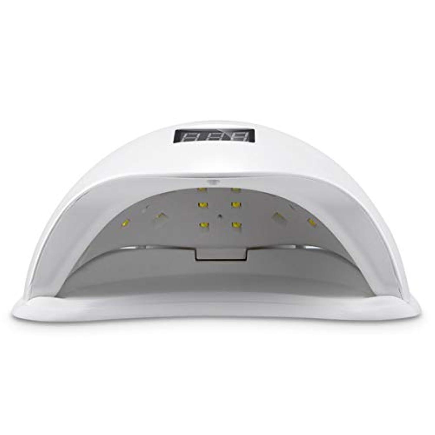 48W紫外線LEDの釘ランプ、ゲルランプ紫外線スマートな自動感知の釘の芸術の治癒のドライヤー。