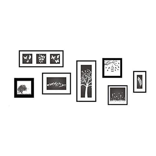 RoomClip商品情報 - フォトフレームツリー ウォールステッカー リビング/子供部屋/窓ガラス/店内の飾り/トイレ/お風呂/冷蔵庫/キッチン/天井