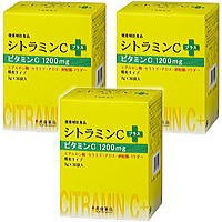 シトラミンCプラス30袋 3個 常盤薬品 ノエビアグループ