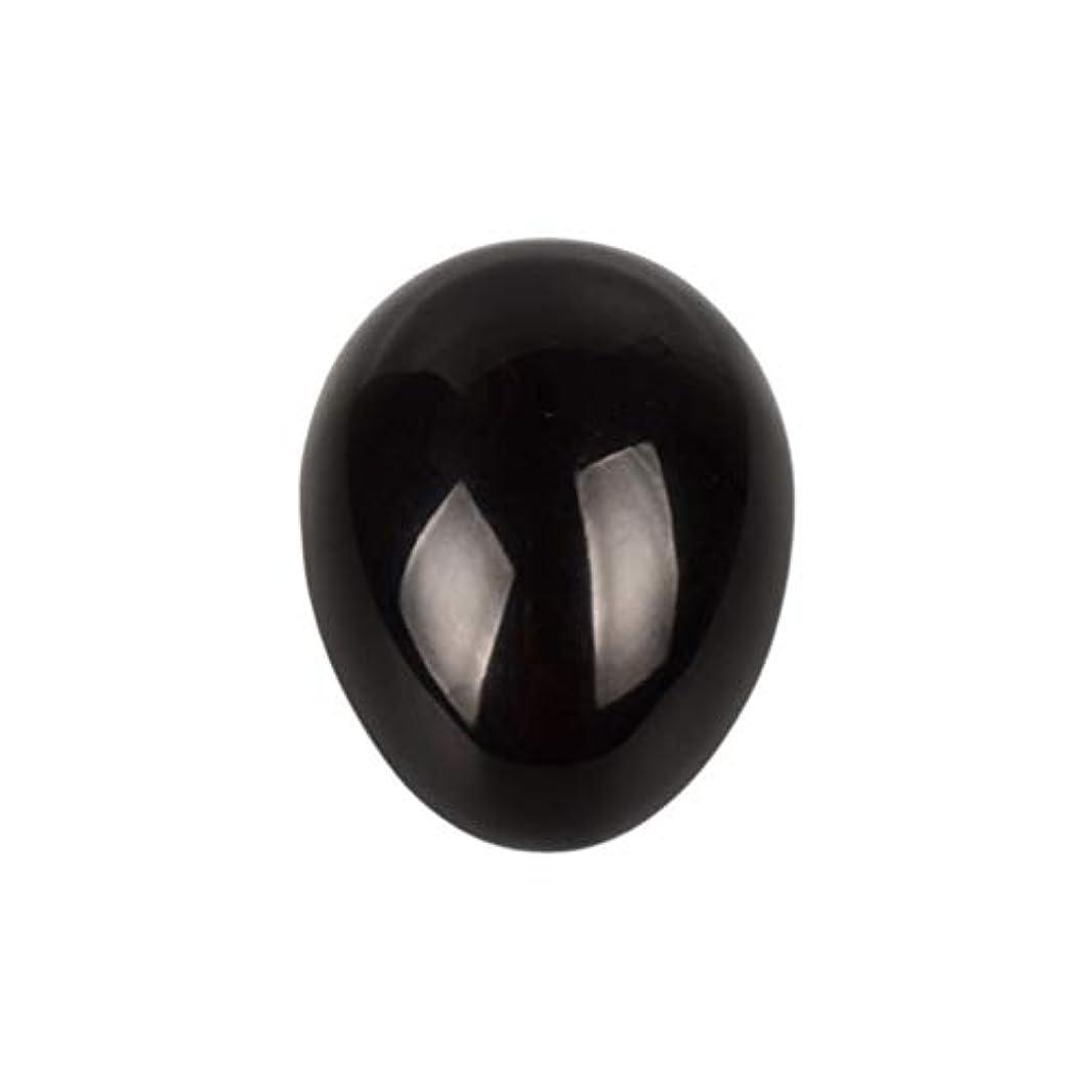 受け入れ雷雨署名HEALIFTY 黒曜石の癒し瞑想のための黒曜石の卵球