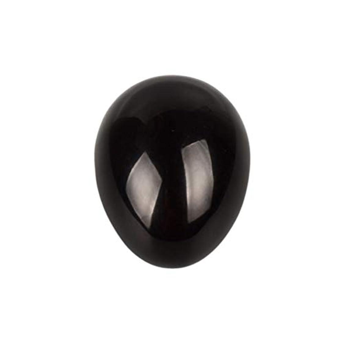 競争安息わかりやすいHEALIFTY 黒曜石の癒し瞑想のための黒曜石の卵球
