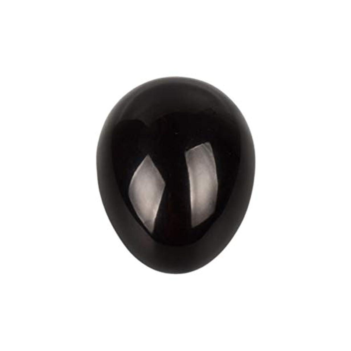 編集者遠いすべきHEALIFTY 黒曜石の癒し瞑想のための黒曜石の卵球