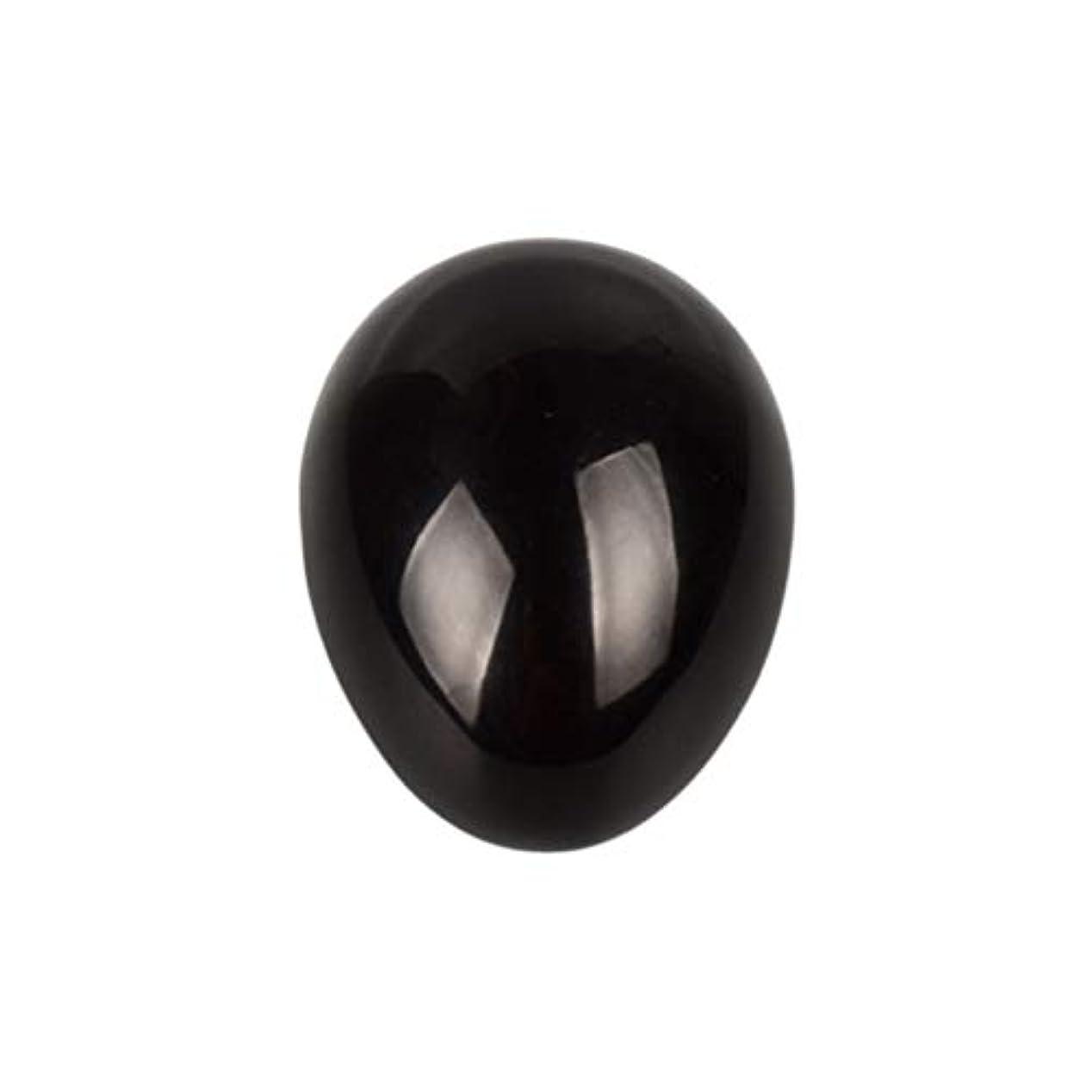 スポーツマン助けになるダウンHEALIFTY 黒曜石の癒し瞑想のための黒曜石の卵球