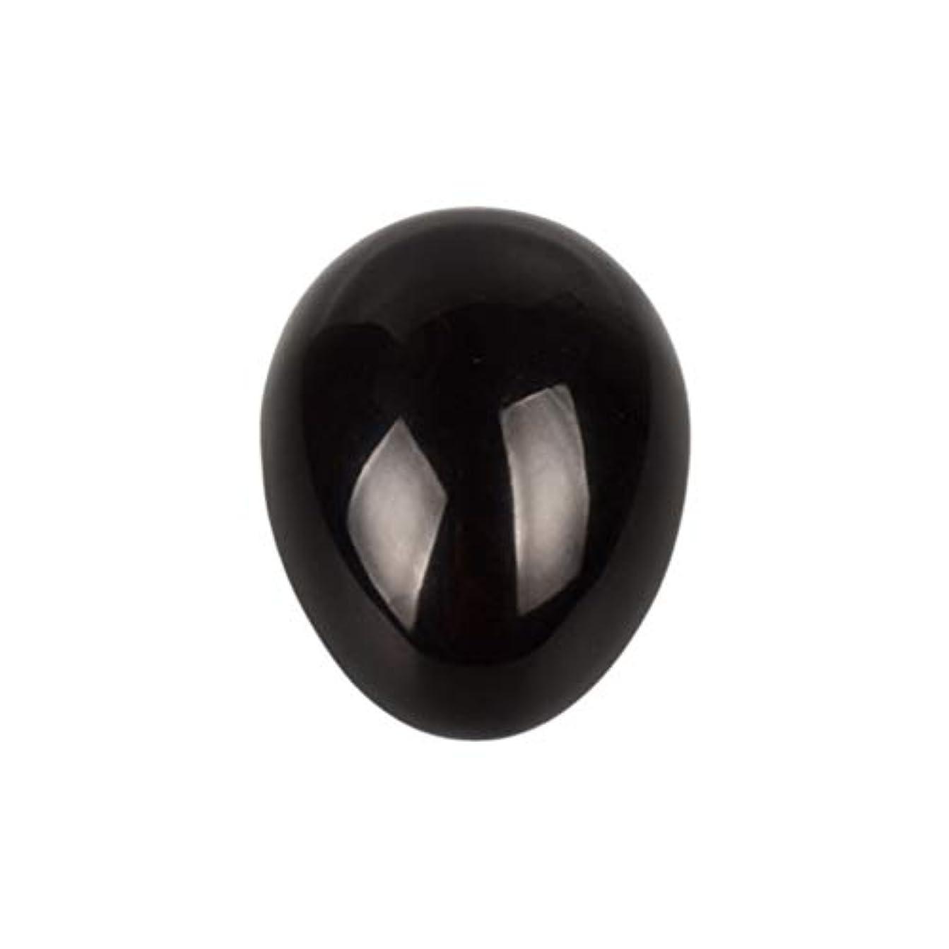 ランダム肥料密度ROSENICE 瞑想チャクラバランスのための黒曜石の卵の球