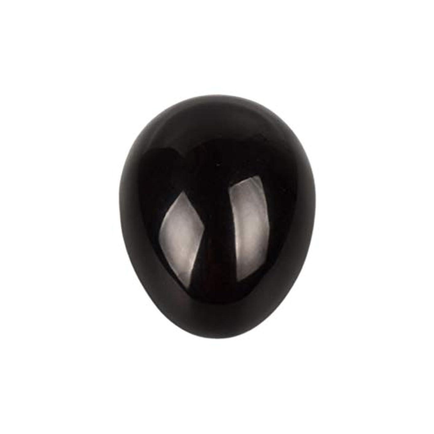 高度な再生的ダウンタウンROSENICE 瞑想チャクラバランスのための黒曜石の卵の球