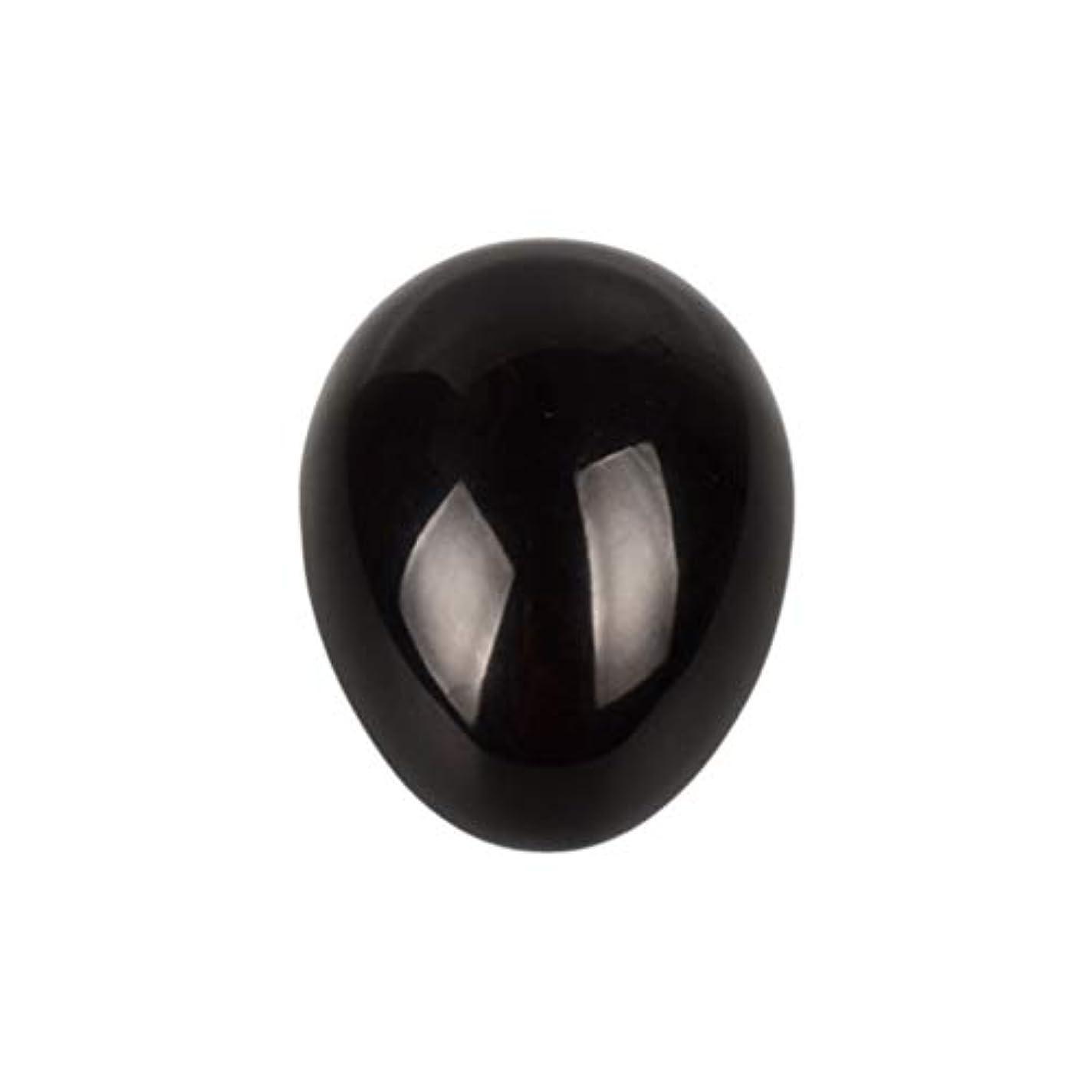 極地輸血またはどちらかHEALIFTY 黒曜石の癒し瞑想のための黒曜石の卵球