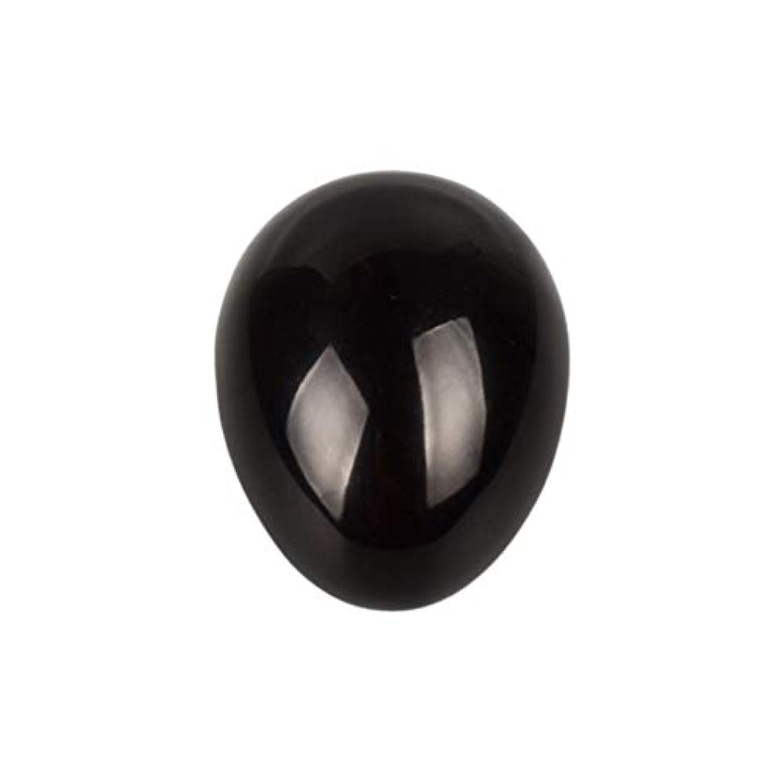 干渉失礼であるROSENICE 瞑想チャクラバランスのための黒曜石の卵の球