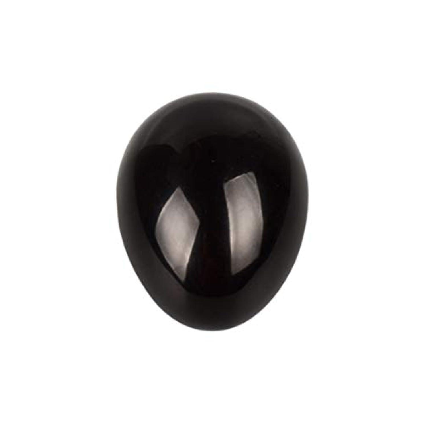 エアコン痴漢申し立てROSENICE 瞑想チャクラバランスのための黒曜石の卵の球
